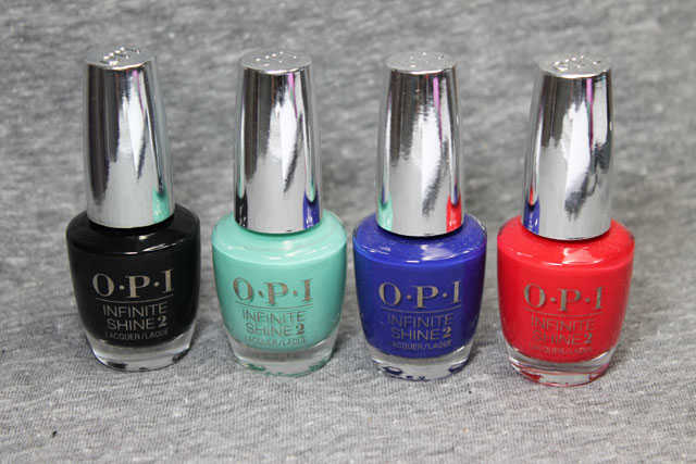 OPI Infinite Shine Opinión Swatches
