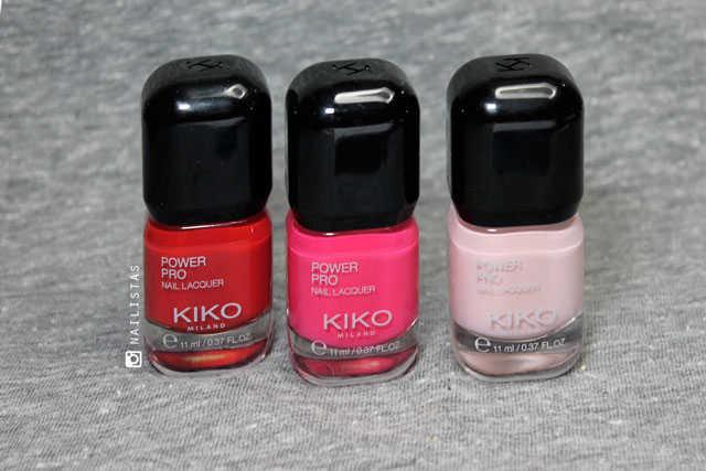 KIKO Power Pro Nail Lacquer opinión y swatches