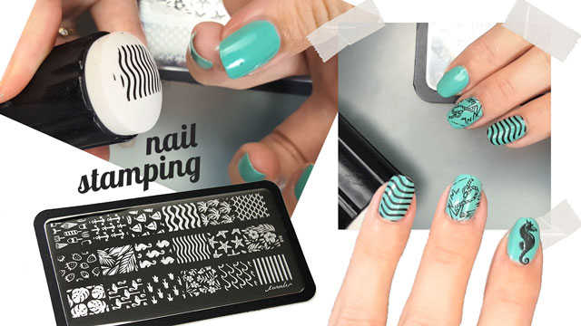 Como estampar en las uñas con placas Curali