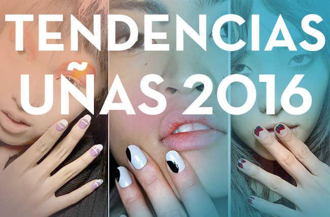 Tendencias de uñas y manicura 2016