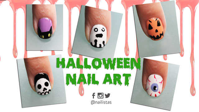 5 ideas para decorar tus uñas Halloween 2016