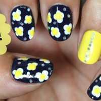 Como decorar tus uñas con flores paso a paso