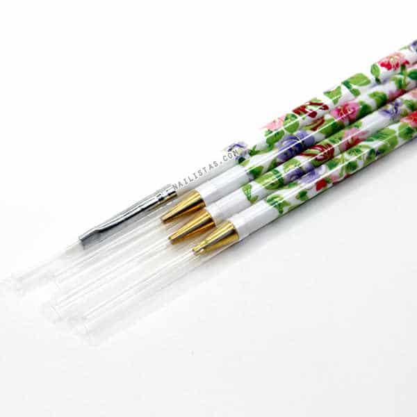 pinceles de nail art para decoracion de uñas