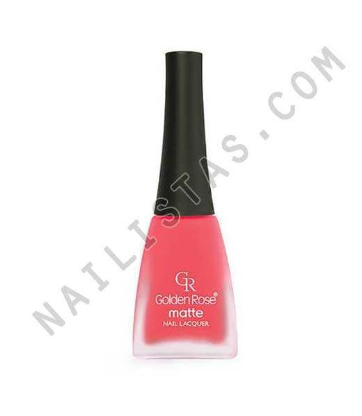 Golden Rose Matte Nail Lacquer 13
