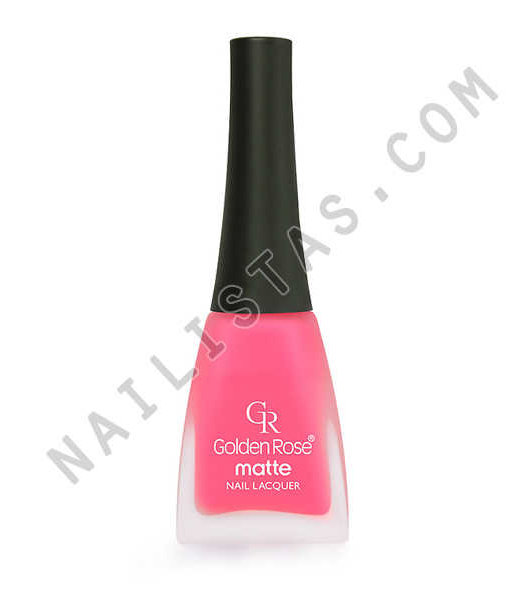 Golden Rose Matte Nail Lacquer 21