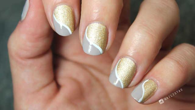 diseños de tendencias de uñas 2016 paso a paso