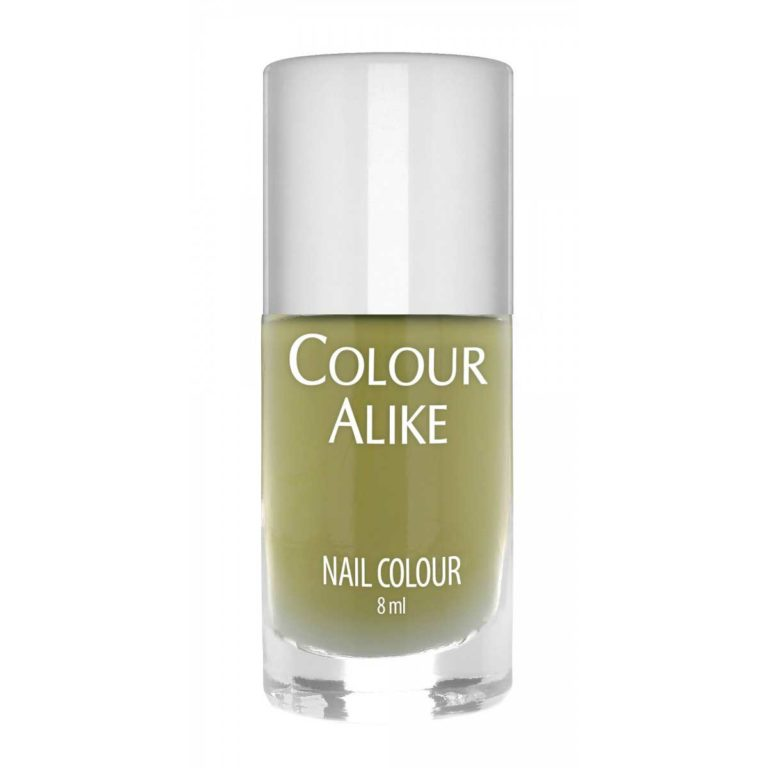 Colour Alike Golden Lime stamping nail polish