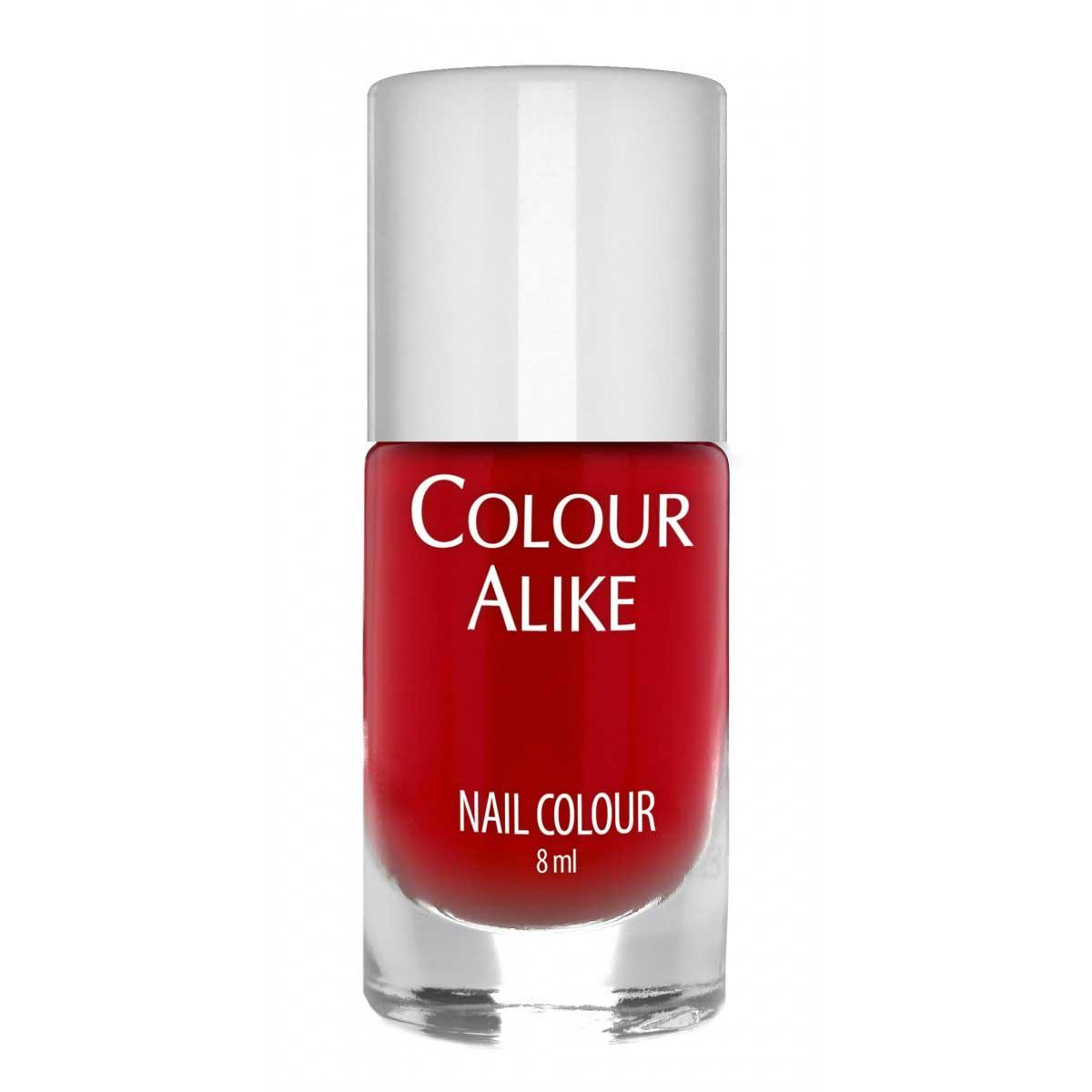 Colour Alike Ruby Red esmalte para estampar en las uñas