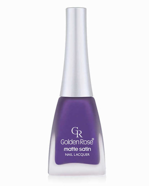 matte satin nail lacquer golden rose 202