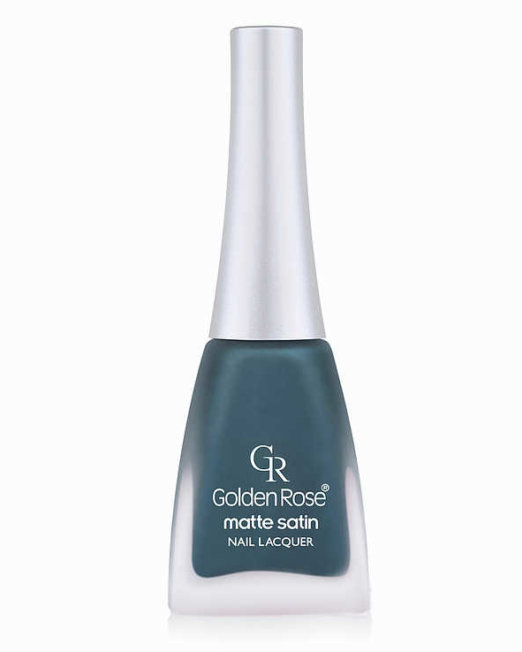 matte satin nail lacquer golden rose 203