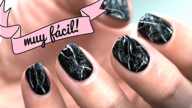 nail art muy fácil paso a paso