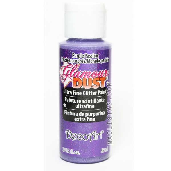 pintura acrílica la americana purple passion pasión morada
