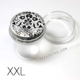 Clear Jelly Stamper Jumbo XXL Crystal Clear sello transparente stamping nail art