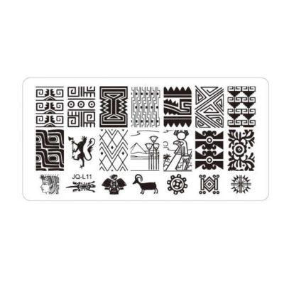 Placas de estampación acrilicas comprar online
