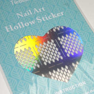 stencil para uñas nail vinyls