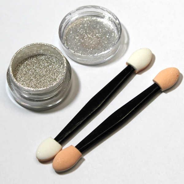 polvo de espejo para uñas efecto espejo mirror powder