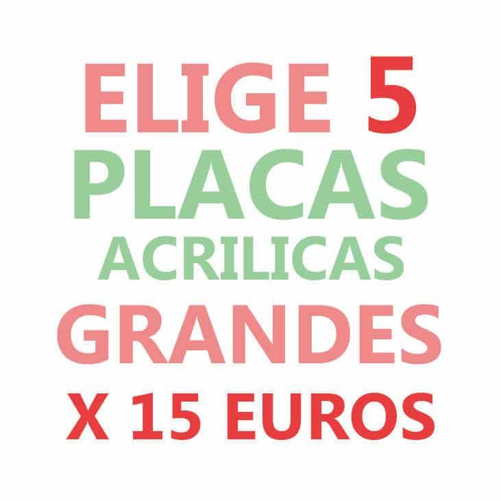 ELIGE 5 PLACAS GRANDES X 15€ - Nailistas | Uñas decoradas paso a paso