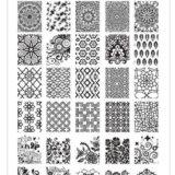 comprar placas de estampación acrílicas para stamping nail art