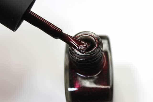 pincel esmaltes uñas