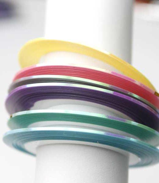 cinta para nail art sirena nail tape