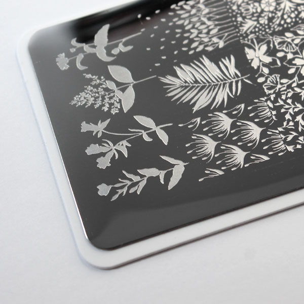 placa de estampación para uñas nail art stamping