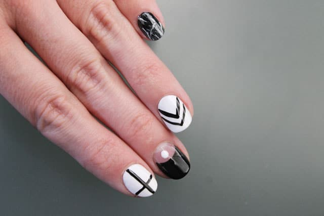 5 uñas decoradas paso a paso