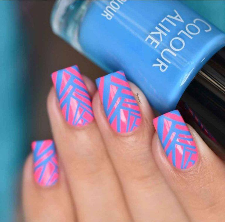 Colour Alike Cobalt Kick Stamping Polish