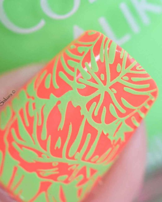 Colour Alike Green Light Stamping polish