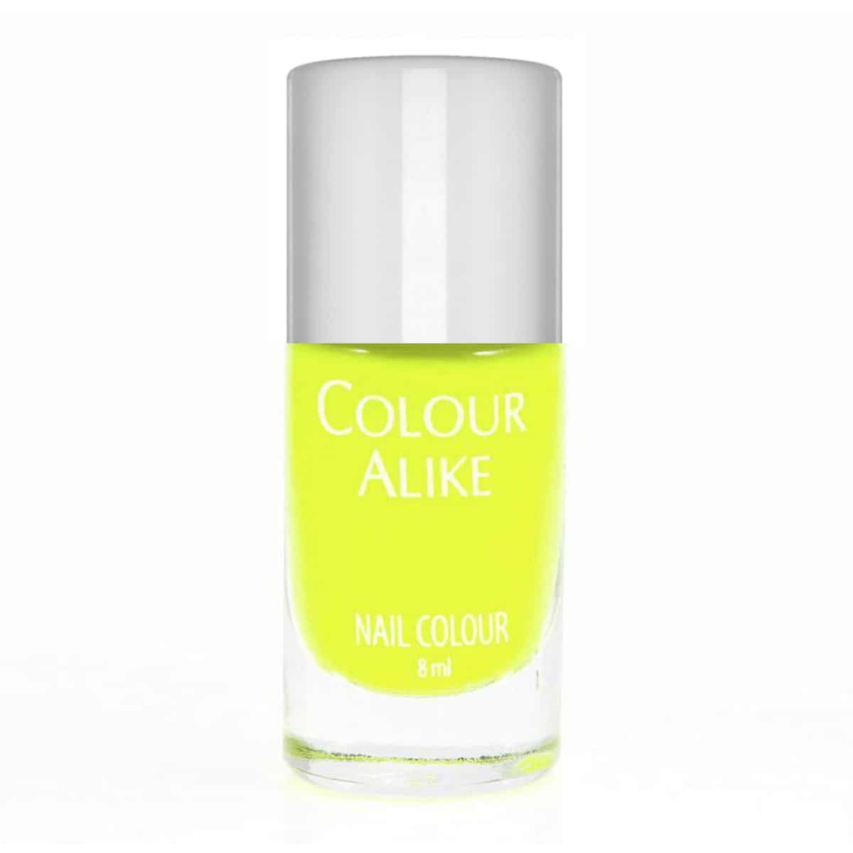 Colour Alike Yellow Glow Stamping Polish