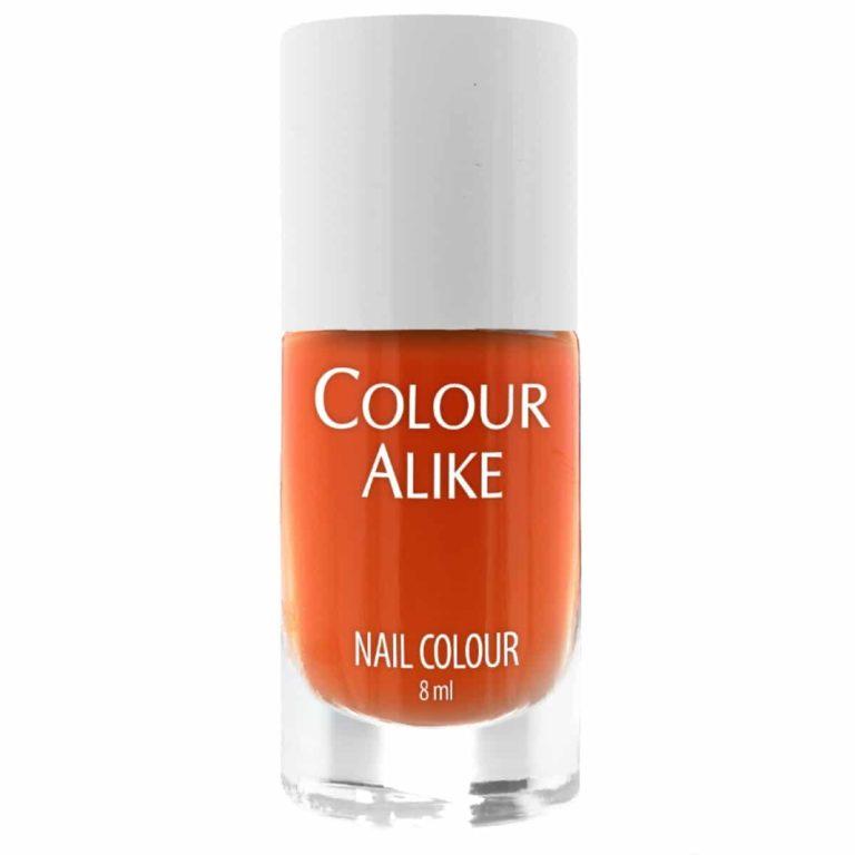 Colour Alike Orange Sky Stamping Polish