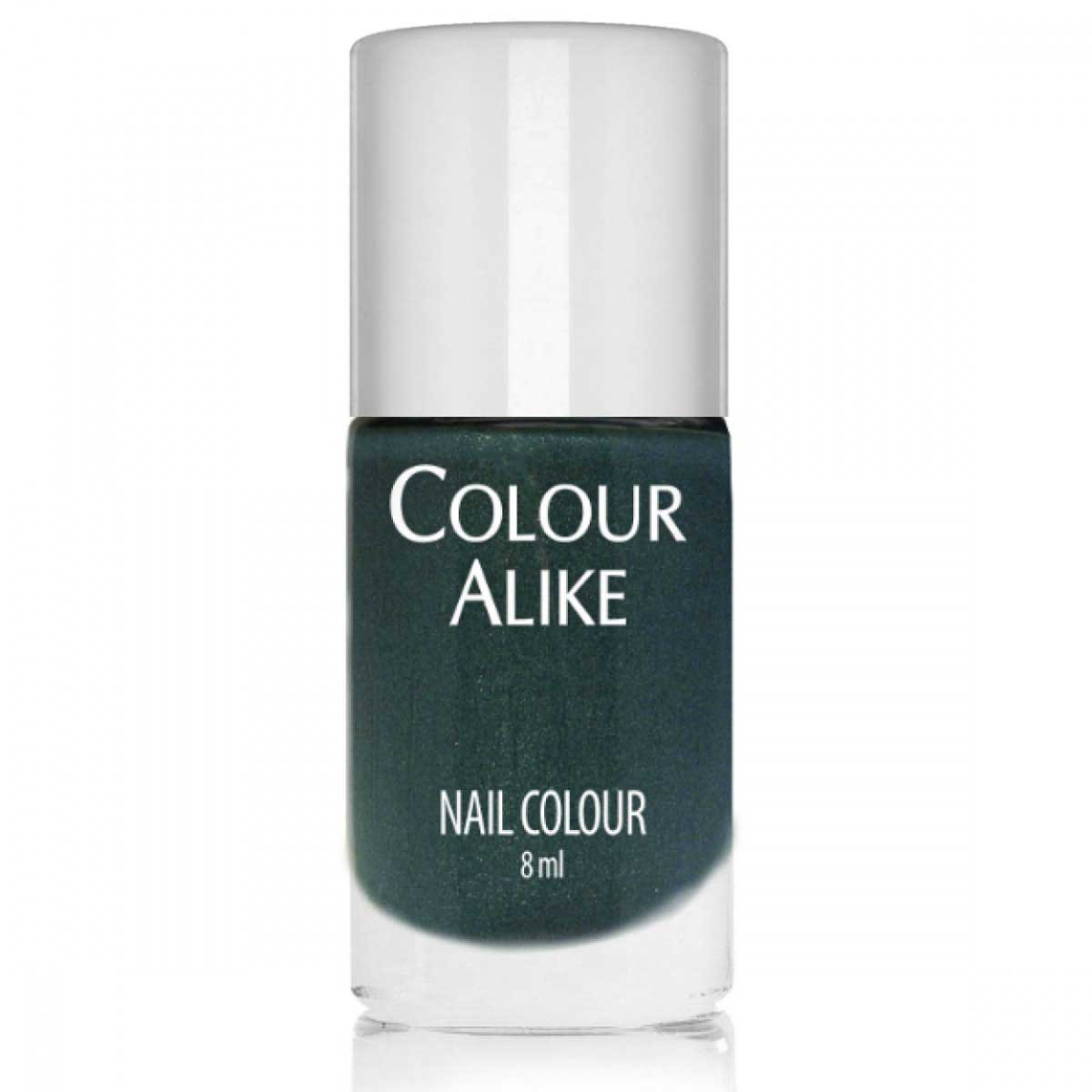 Colour Alike Cashmere Coat Stamping Polish