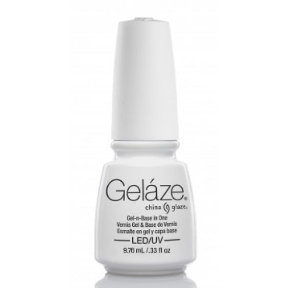 esmalte permanente gelaze white on white