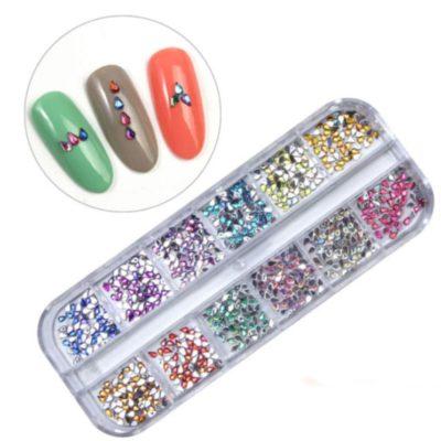 piedras para decoración de uñas