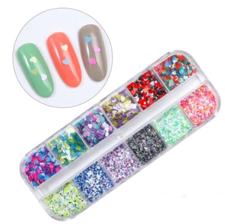 mix de purpurina para decoración de uñas y encapsulados