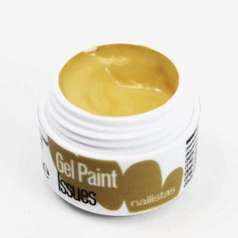 Gel paint nail art gel ocre