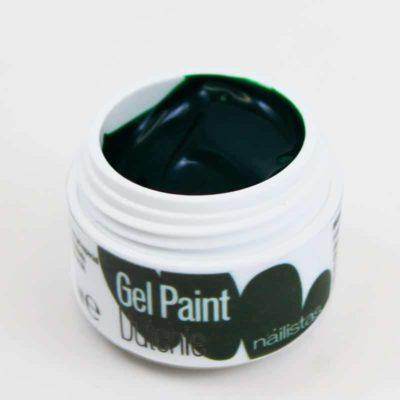 Gel paint nail art gel painting verde oscuro