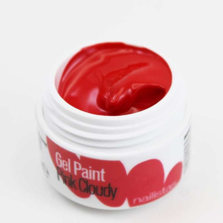Gel paint nail art gel painting rojo