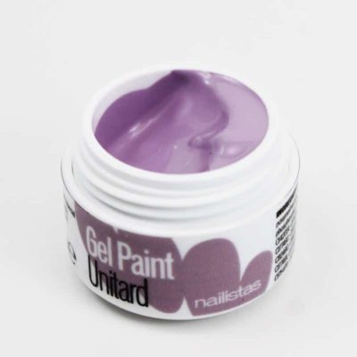 Gel paint nail art gel painting lila claro lavanda