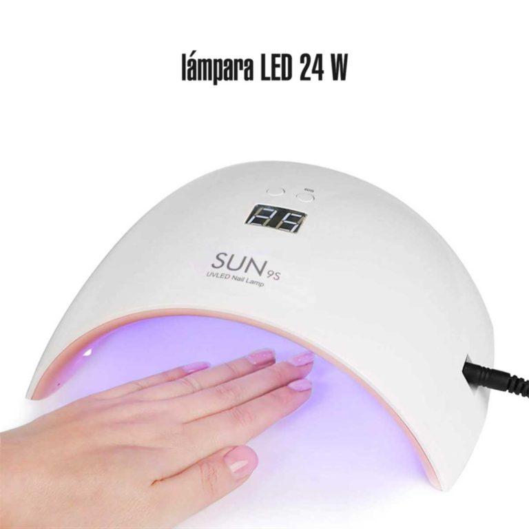 Lámpara uñas LED 24W