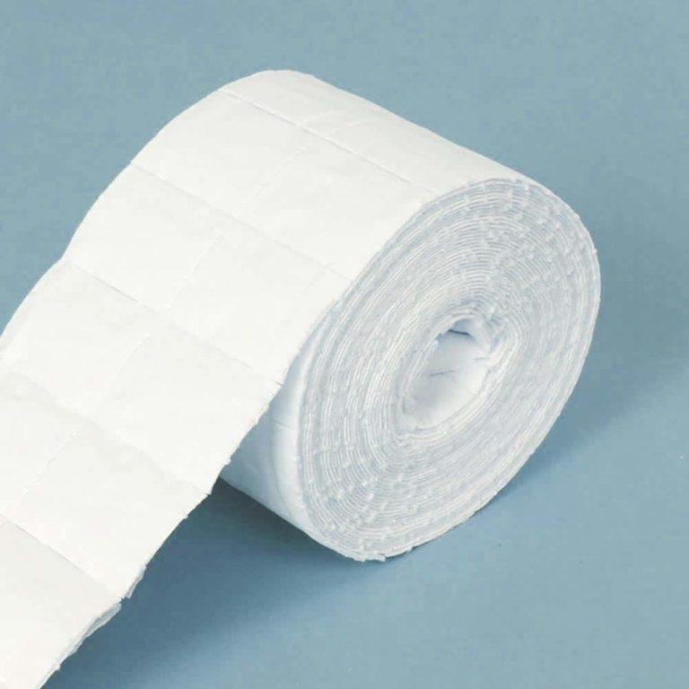 rollo de algodón celulosa para uñas manicura salón