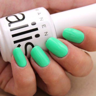 esmalte permanente nailistas verde