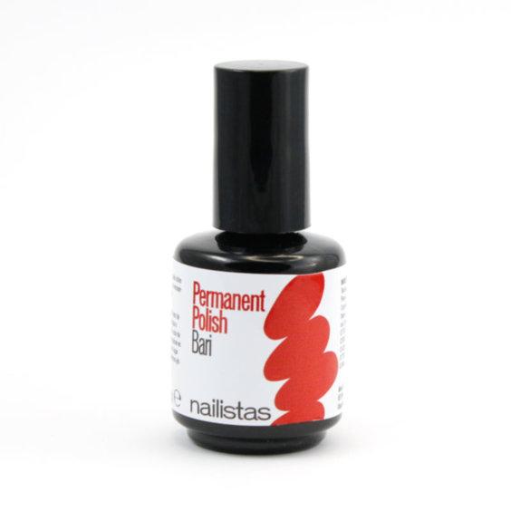 esmalte permanente rojo coral
