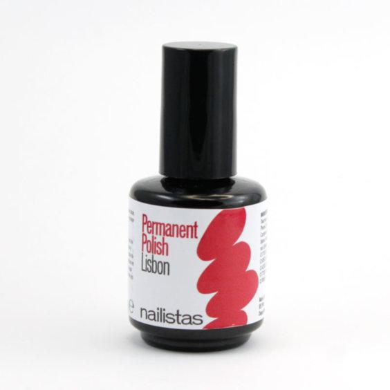 esmalte permanente rosa rojizo