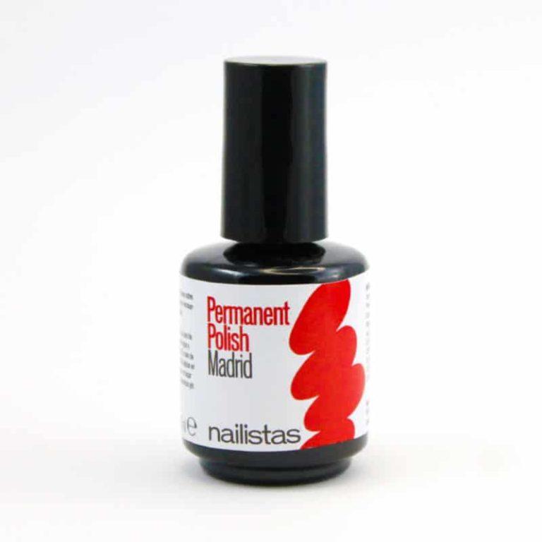 esmalte permanente rojo vibrante