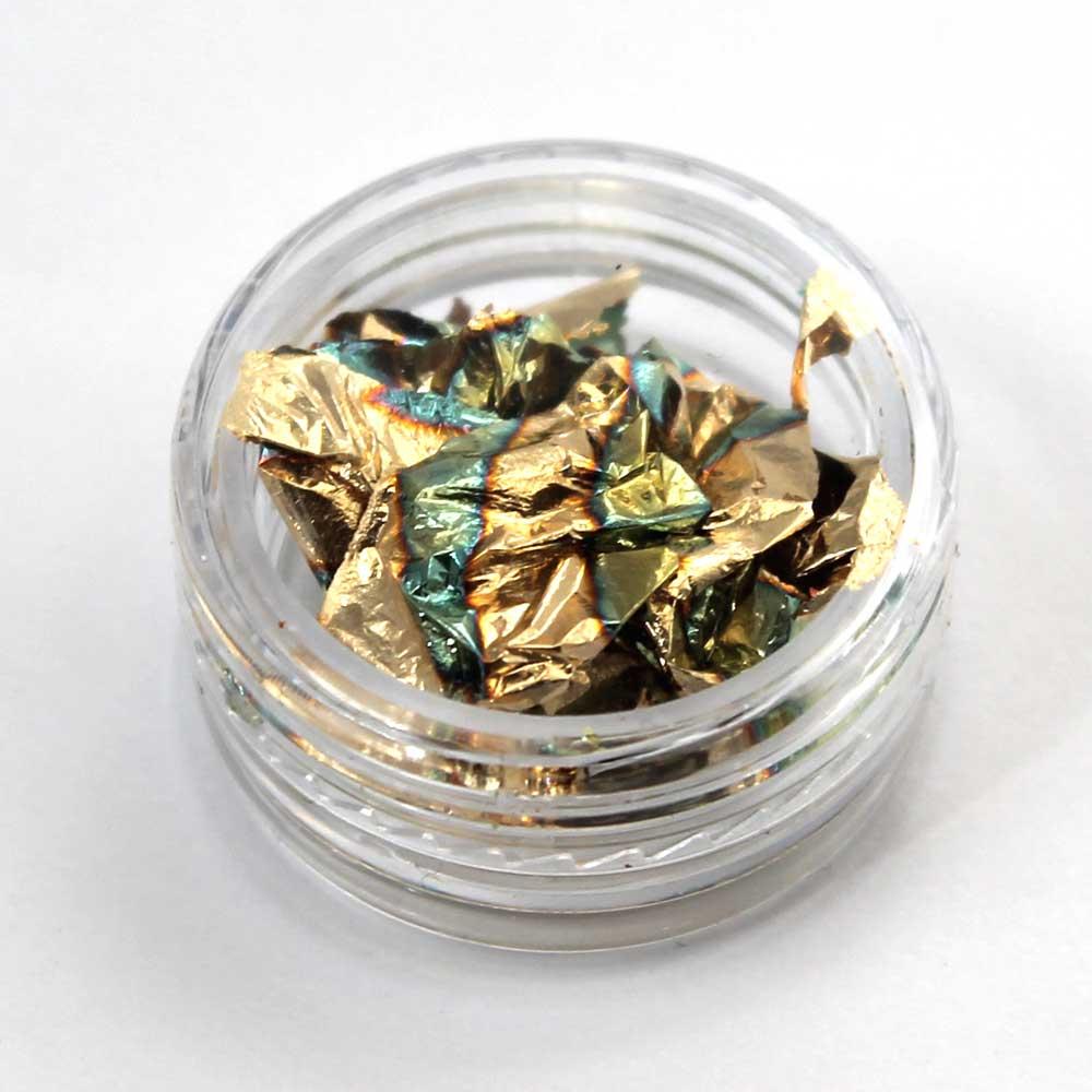 pan de oro para decorar uñas