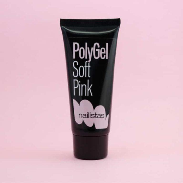 polygel rosa claro