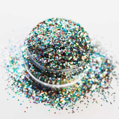 purpurina glitter solvent resistent