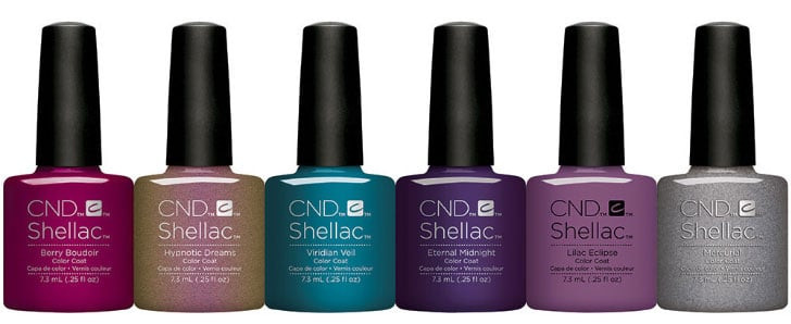 esmaltes permanentes CND Shellac