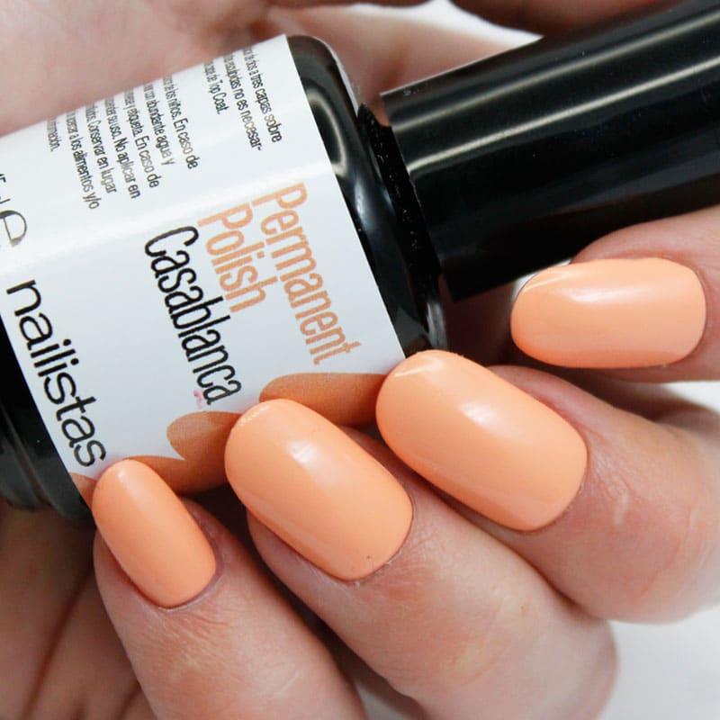 comprar esmalte permanente naranja pastel
