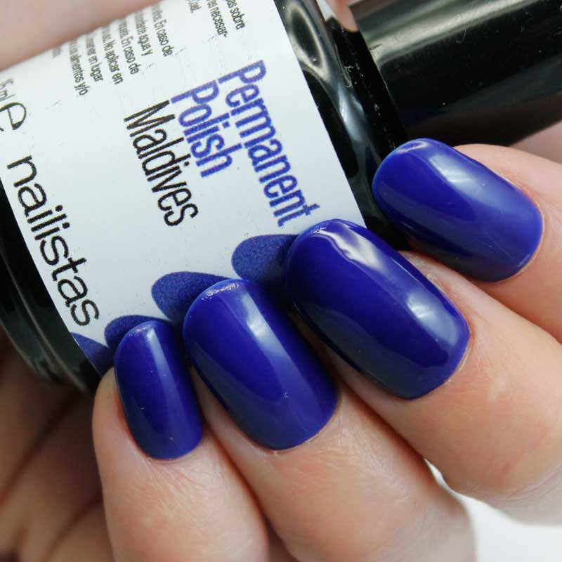 comprar esmalte permanente azul eléctrico índigo klein